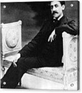 Marcel Proust, French Author Acrylic Print