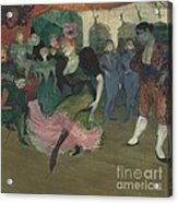 "Marcelle Lender Dancing The Bolero In ""chilp?ric"" Acrylic Print"