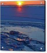 March 16-2017 Sunrise Two  Acrylic Print