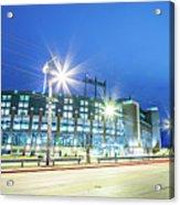 March 2017 Green Bay Wisconsin - Lambeau Field - Green Bay Packe Acrylic Print