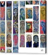 March Bachmors Dailyselfportrait Acrylic Print
