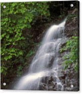 March Cataract Falls Mount Greylock Acrylic Print