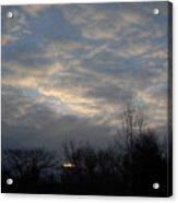 March Clouds In Dawn Sky Acrylic Print