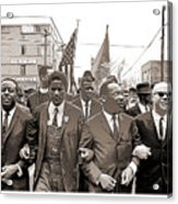 March Through Selma Acrylic Print