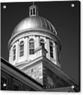 Marche Bonsecours  Acrylic Print