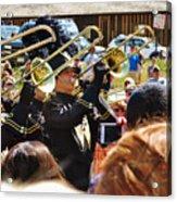 Marching Band Brass Acrylic Print