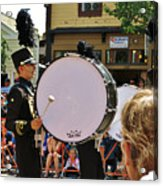 Marching Band Percussion  Acrylic Print