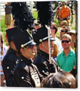 Marching Band Wind Acrylic Print