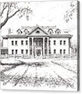 Marcus Daly Mansion Hamilton Montana Acrylic Print