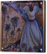 Mardi Gras Megillah Acrylic Print by Barbara Nesin