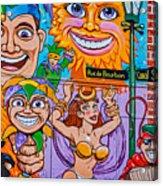 Mardi Gras North 2 Acrylic Print