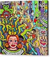 Mardi Gras - Throw Me Something Mister Acrylic Print