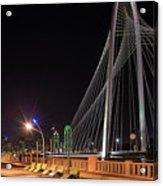 Margaret Hunt Hill Bridge Dallas Acrylic Print