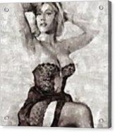 Margaret Nolan, Carry On Actress Acrylic Print