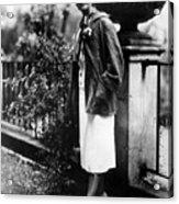 Margaret Sanger, Founder Of Planned Acrylic Print