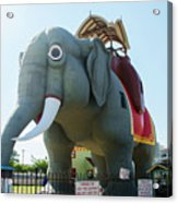 Margate New Jersey - Lucy The Elephant Acrylic Print