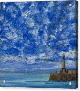 Margate Sea And Sky Acrylic Print