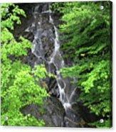 Margaurite Falls Berkshires Acrylic Print