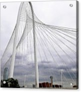 Marget Hunt Bridge Acrylic Print