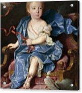 Maria Antonia Fernanda De Borbon. Infanta Of Spain. Future Queen Of Sardinia Acrylic Print
