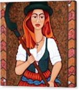 Maria Da Fonte - The Revolt Of Women Acrylic Print