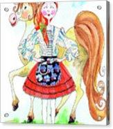 Maria Do Ribatejo Acrylic Print