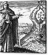 Maria The Jewess, First True Alchemist Acrylic Print