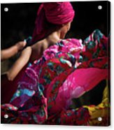 Mariachi Dancer 4 Acrylic Print