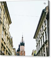 Mariacki From Florianska Acrylic Print