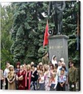 Mariage Under Lenin's Protection Acrylic Print