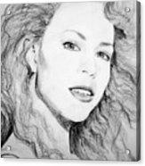 Mariah Acrylic Print