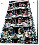 Mariamman Temple 1 Acrylic Print