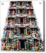 Mariamman Temple 3 Acrylic Print