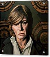 Marianne Faithfull Painting Acrylic Print