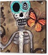 Marias Butterfly Acrylic Print