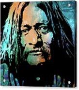 Maricopa Warrior Acrylic Print