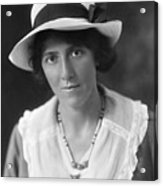 Marie Stopes (1880-1958) Acrylic Print