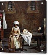 Marie Tussaud (1760-1850) Acrylic Print