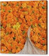 Marigolds II Acrylic Print