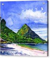 Marigot Bay St Lucia Acrylic Print
