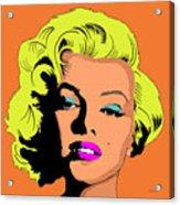 Marilyn-3 Acrylic Print