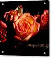 Marilyn Light Acrylic Print