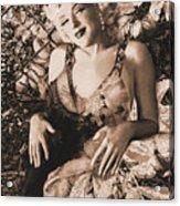 Marilyn Monroe 126 A 'sepia' Acrylic Print