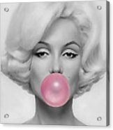 Marilyn Monroe Art Acrylic Print