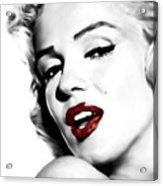 Marilyn Monroe Acrylic Print by Laurence Adamson