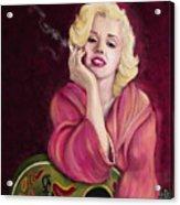 Marilyn Monroe Acrylic Print by Sydne Archambault