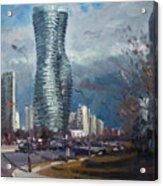 Marilyn Monroe Towers Mississauga Acrylic Print