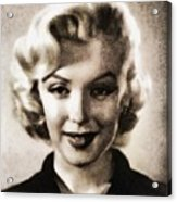 Marilyn Monroe, Vintage Actress Acrylic Print