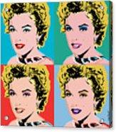Marilyn Pop 4 Acrylic Print
