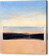 Marin Sunset Acrylic Print